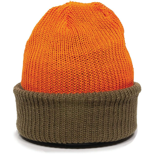 Complete Coverage Reversible Cuffed Knit Beanie