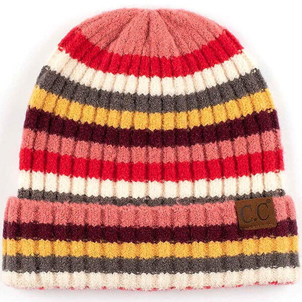 Cuff Multihued Beanie for All Activities