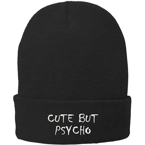 Cute But Psycho Beanie To Gift Someone