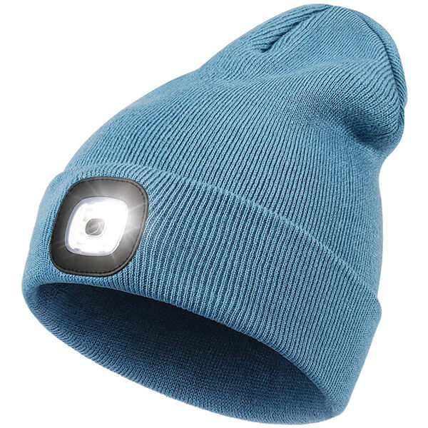 Night Scout Rechargeable LED Beanie In 10 Different Colours