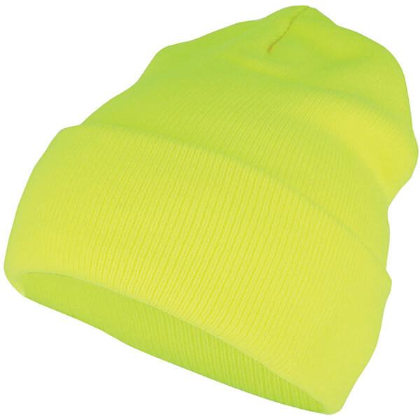 Safety Reflective Neon High Top Beanie