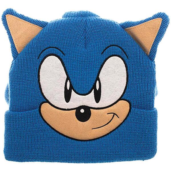 Sonic Hedgehog Novelty Beanie