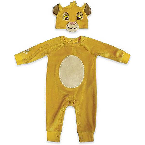 Warm Simba Bodysuit With Beanie