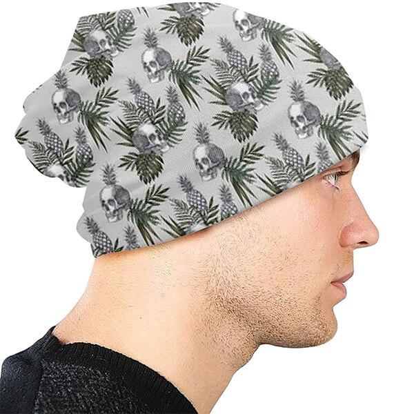 Women's Knit Skull Beanie Hat