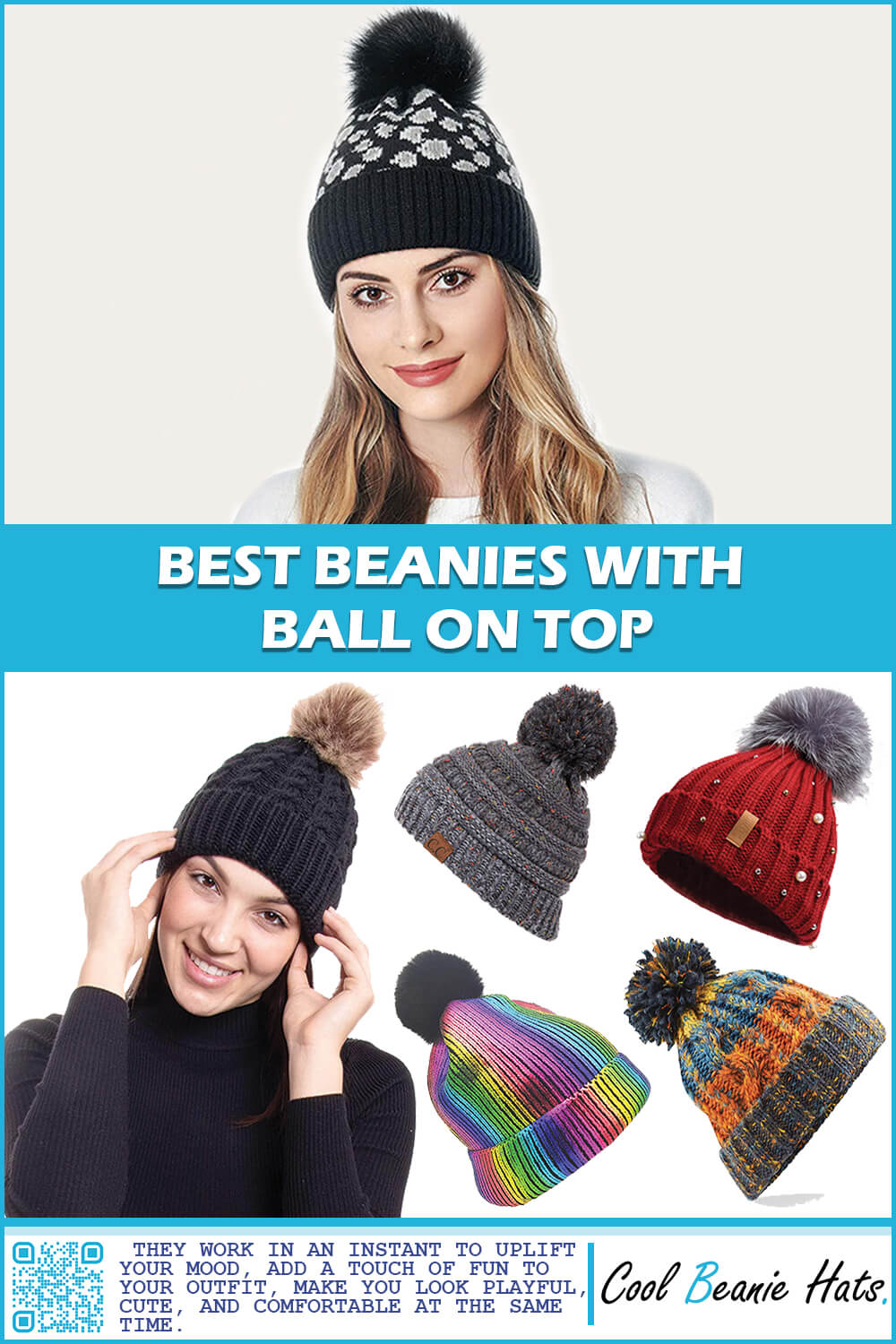 Beanies with Ball on Top