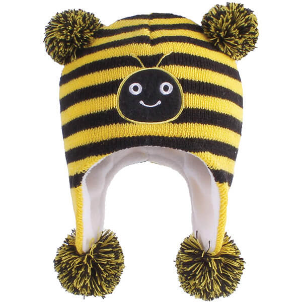 Best-selling Cutest Earflap Bee Beanie to Gift Your Little One