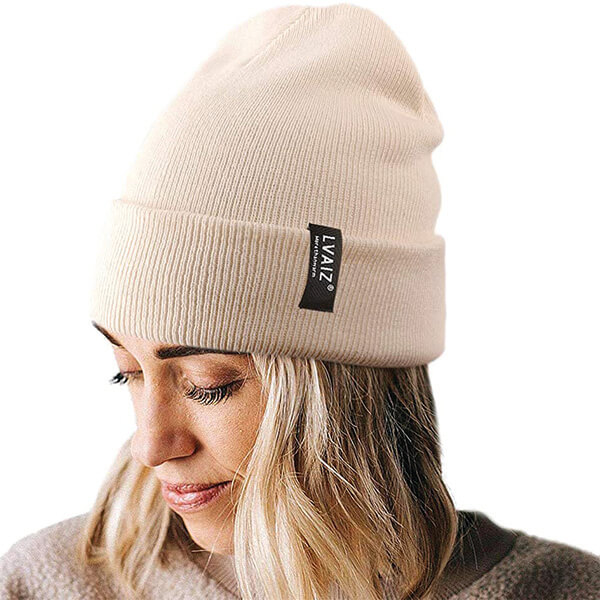 Double Layered Knitted High Top Beanie