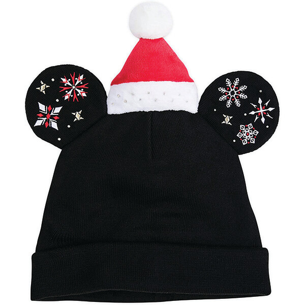 Light-Up Mickey Mouse Beanie with Ears for Adults