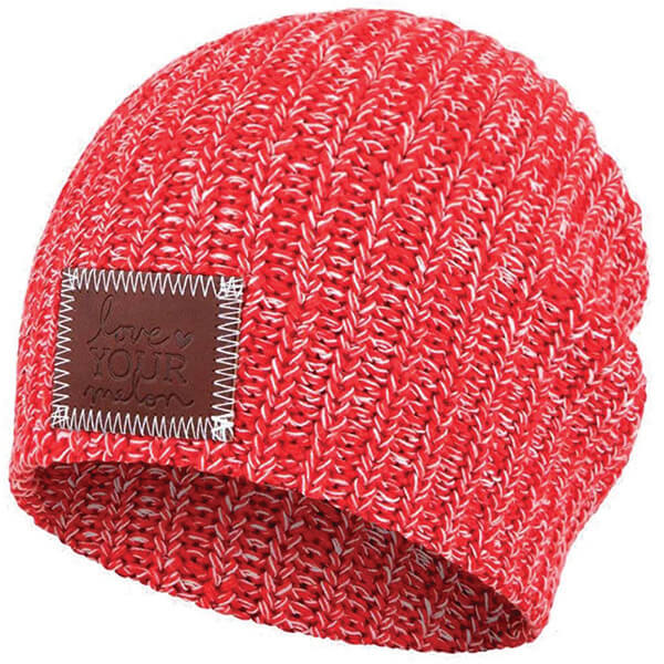 Love Your Melon Beanie With Patch