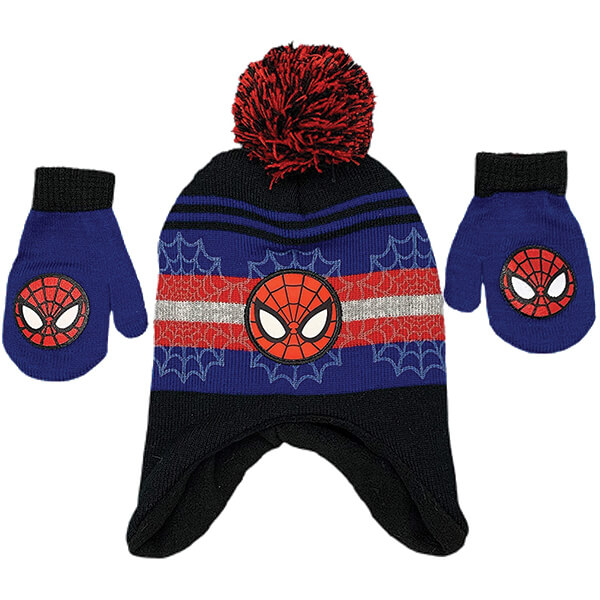 Warm Spiderman Beanie for Two to Five Years