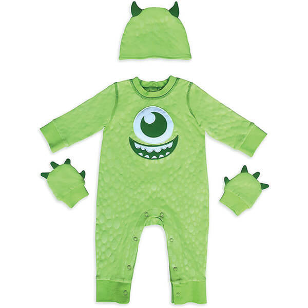 Monster Baby Costume Bodysuit for 0-2 Years