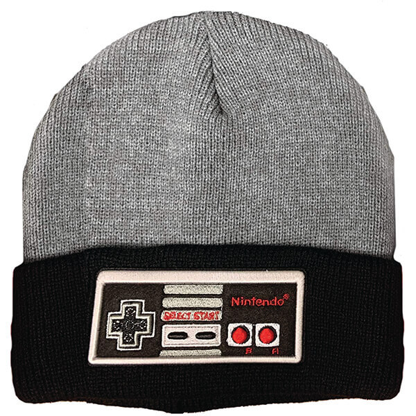 Nintendo Game Lover Beanie With Patch