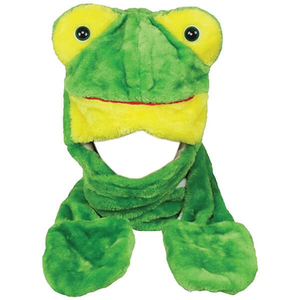 Seriously Protective Multifunctional Frog Beanie for Freezing Temperatures