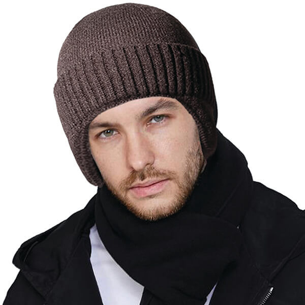 Unique Complete Coverage Knit Style Vintage Beanie