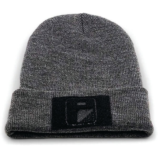 Customizable Beanie With Patch for All Head Sizes