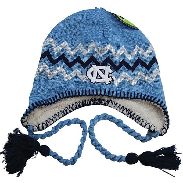 North Carolina Tar Heels Hat with Ear Flaps
