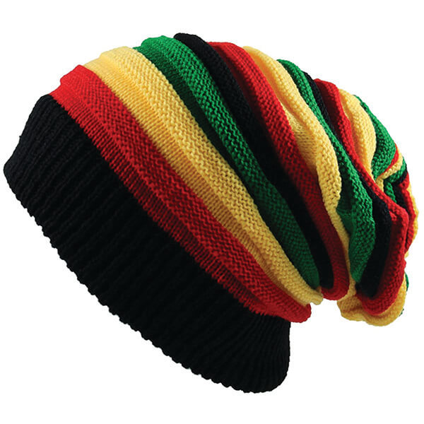 Reggae Style Rasta Dreadlock Beanie