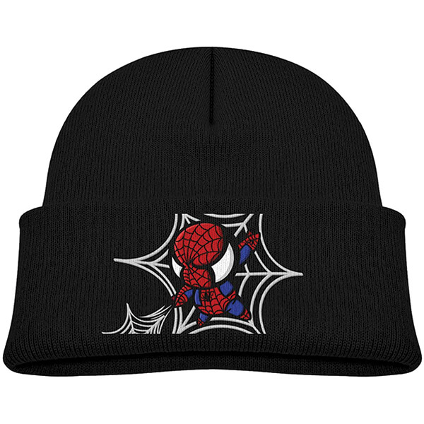 Skin Friendly Spiderman Beanie for 6 to 36 Months