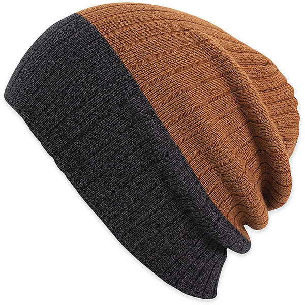 Double Tone Beanie for Larger Head Sizes and Dreadlocks