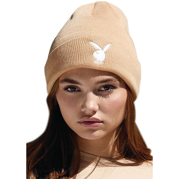 Playboy Bunny Embroidery Beanie for All