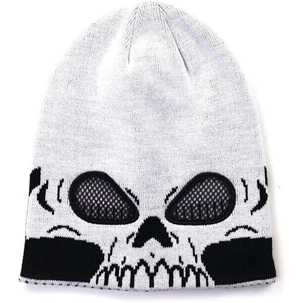See through Skull Halloween Beanie