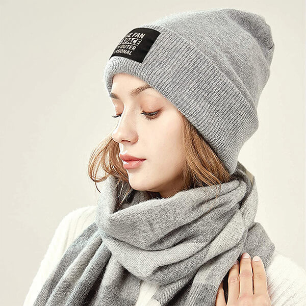 Trending Huge Fan of Space Outer and Personal Word Beanie