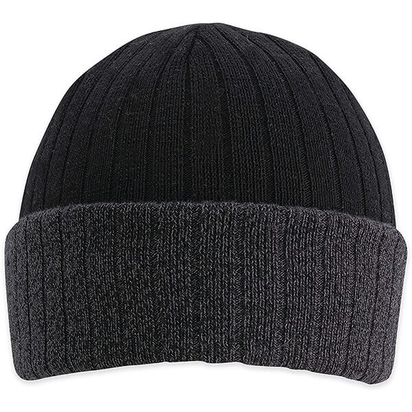 Warm and Supercool Slouch and Cuff Reversible Beanie