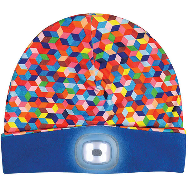 Colourful Attractive Polyester LED Beanie