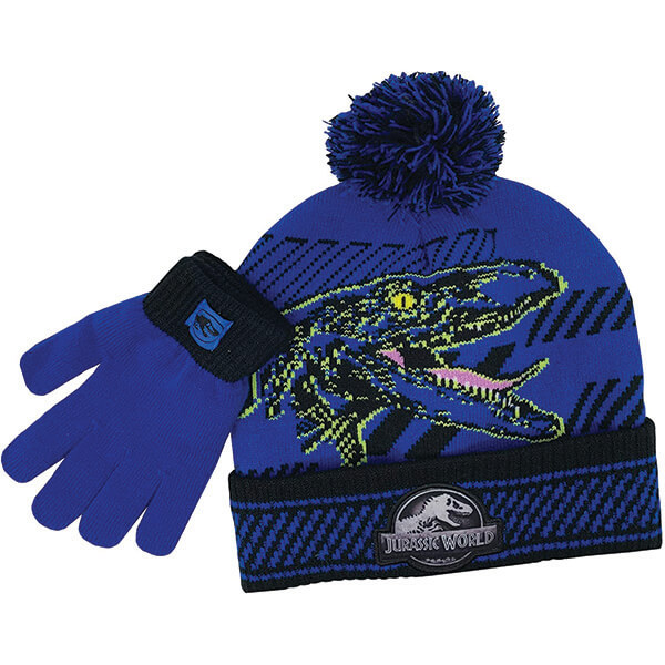 Regular Usage Trex Beanie with Mittens for 5- 13 Years