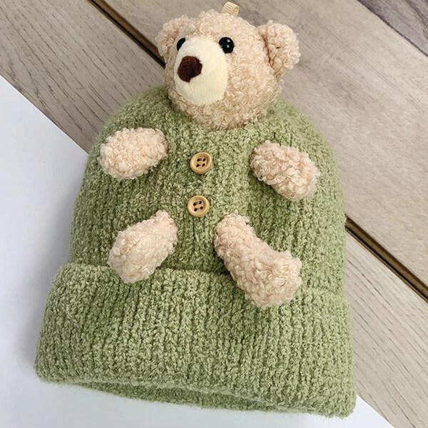 Teddy Bear Novelty Beanie for Teddy Lovers