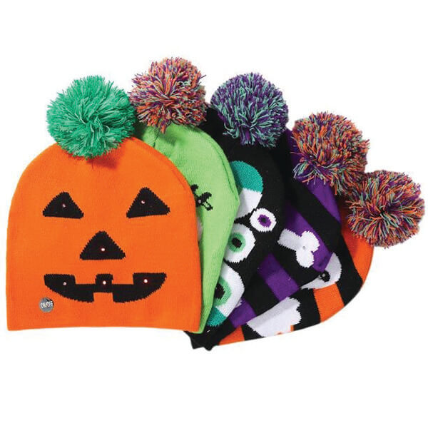 Unique Light Up Beanies For Halloween