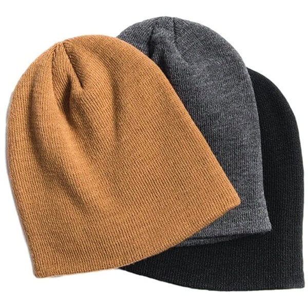 Unisex Combo Plain Beanies at Low Prices