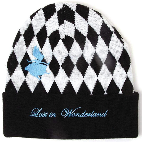 Adult Checkered Alice In Wonderland Beanie for All Seasons