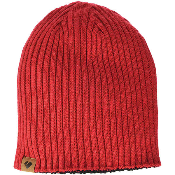 Red and Black Reversible Beanie for All Activities