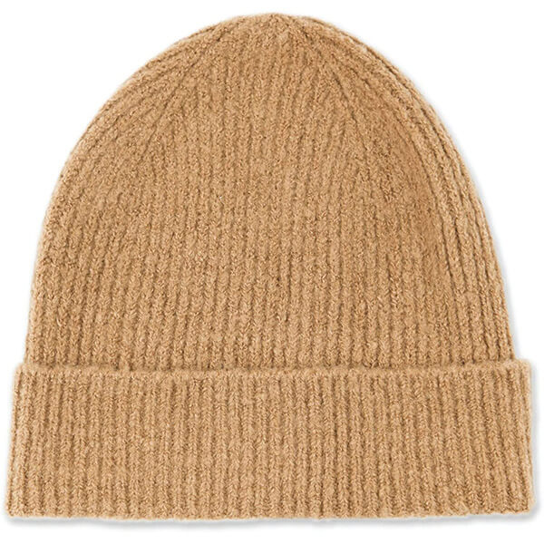 Lightweight Khaki Cuffed Beanie to Pair Up With Anything
