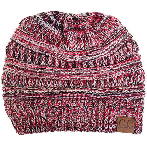 100% Acrylic Multicolored Beanie in 28 colors
