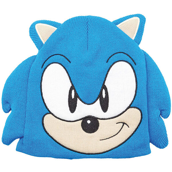 100% Cotton Sweat-free Sonics Beanie for Sensitive Skin