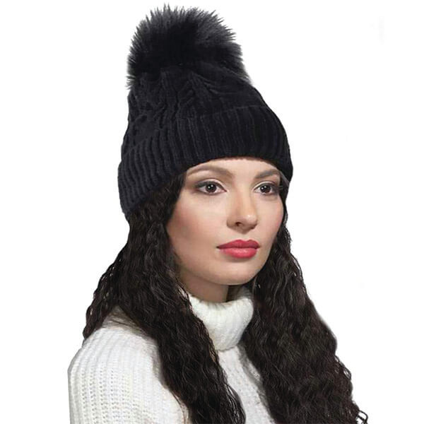Beanie Wig With Long Wavy Hair