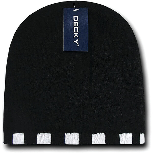 Stylish Reversible Checkered Beanie for Everyone
