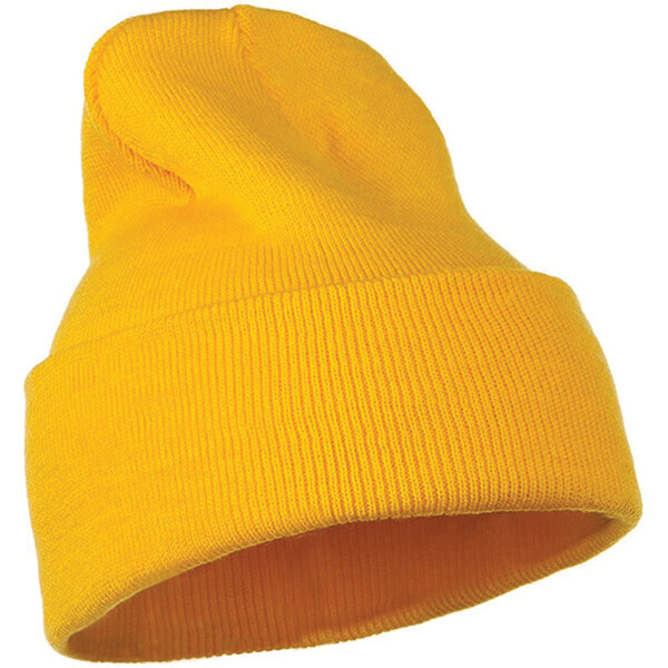 Trendy High Top Yellow Beanie at Affordable Price