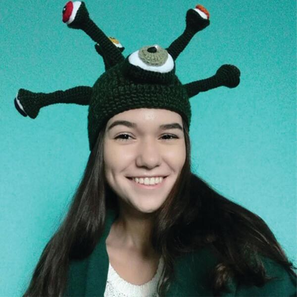 Weird Octopus Beanie for Halloween