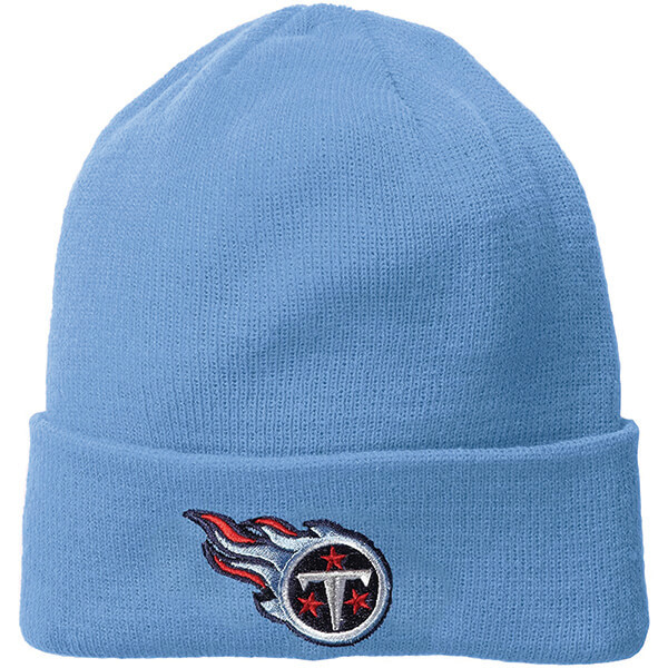 Cuffed Reebok Tennessee Titans Unisex Beanie