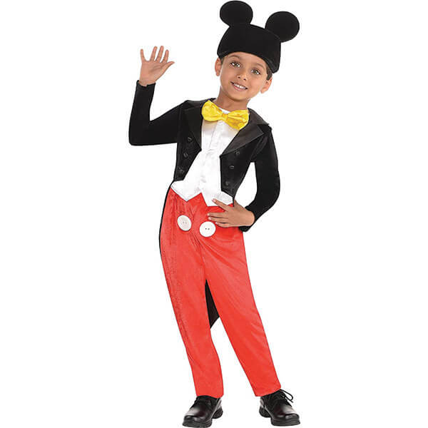 Mickey Mouse Costume With Beanie for 3-4 Years