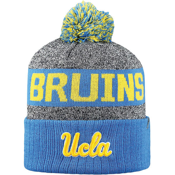 UCLA Bruins Striped Cuffed Beanie