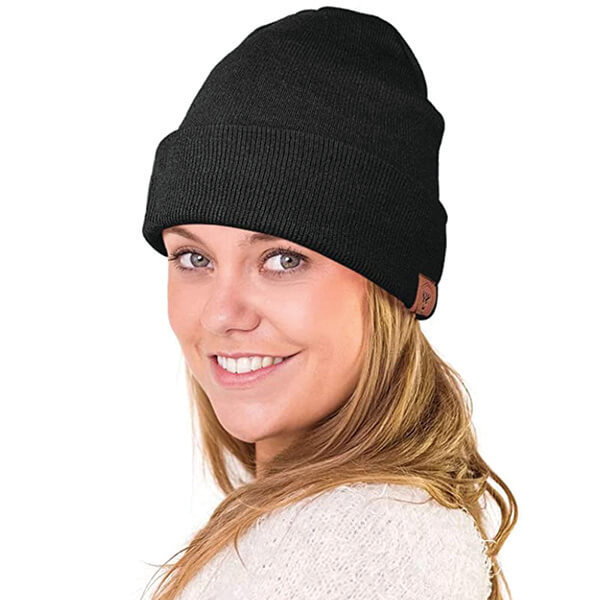 Unisex Stretchy Polyester Beanie for Regular Usage