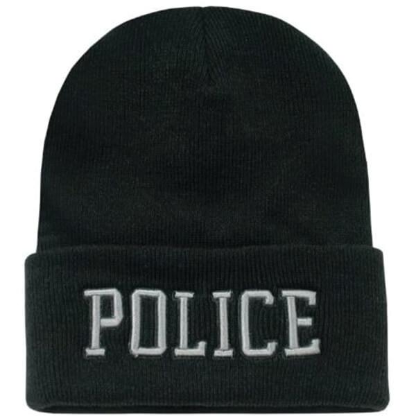 Warm Police Snug Fit Beanie