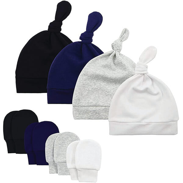 Combo Knot Beanies for Newborns At Affordable Prices