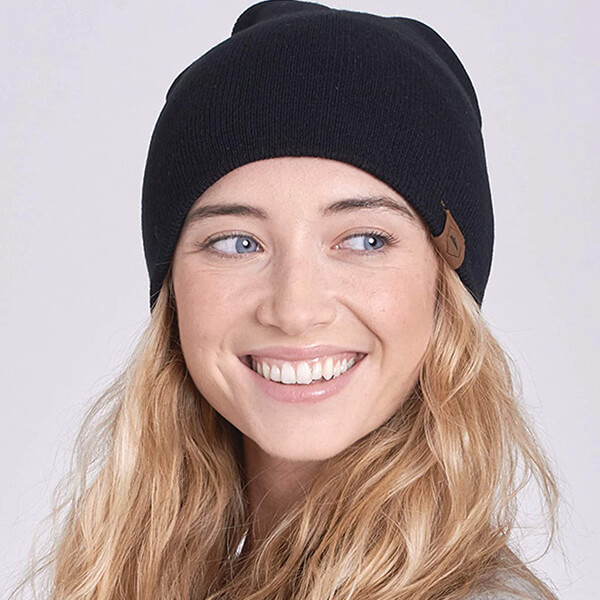 Fitted Knit Winter Hats for Men and Women