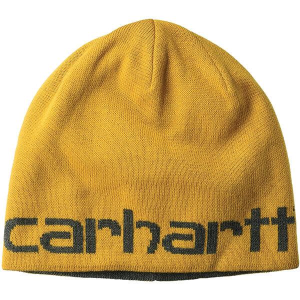 Men's Yellow Reversible Carhartt Beanie