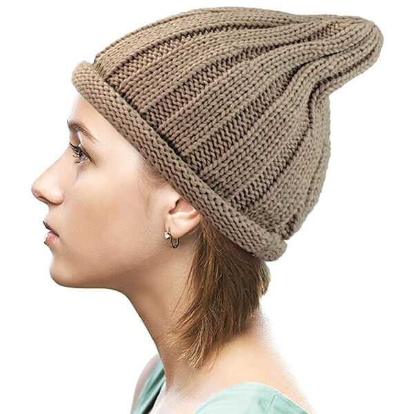 Pointy Style Knitted Beanie at Affordable Price
